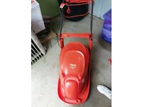 Fly o hover vac 280, lightweight, grass collecting, electric lawn mower