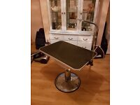 Dog grooming table for sale £100
