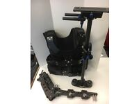 Steadicam stabiliser with Vest, Arm and Gimbal