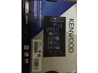 Duble Din Kenwood Stereo Good Condition DDX4021BT with Box & surround etc