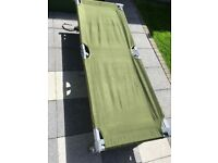 American army cot bed camping