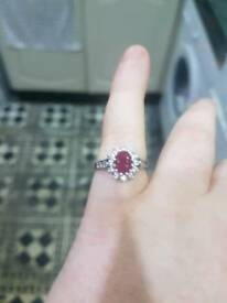 Ruby c'ze ring size M