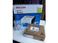 Ricoh-SP211 Printer and Ricoh Print catridge SP201E Both Brand New