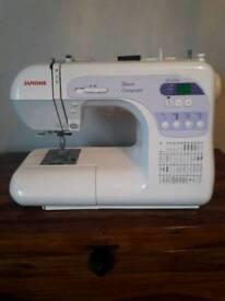 Janome computerised sewing machine
