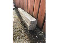 Concrete lintels 100x80 1m