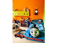 Thomas the Tank Engine Bed - excellent condition