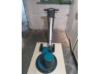 Floor polisher cleaner