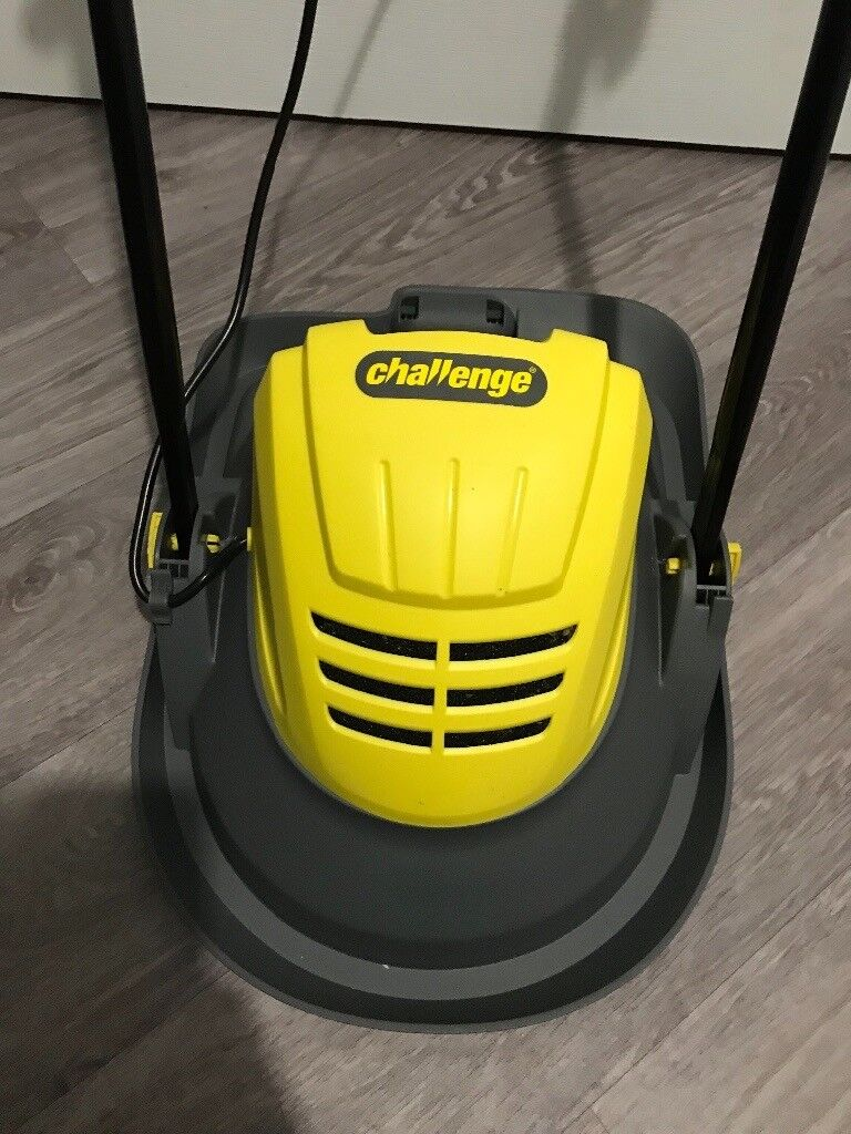 Brand new challenge 900w hover mower lawnmower boxed