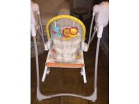 Fisher Price swinging chair RRP: £112