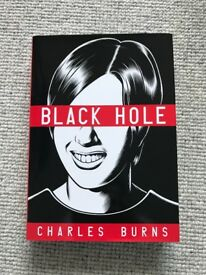 BLACK HOLE - Graphic Novel by Charles Burns