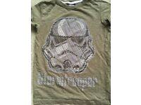 NEXT Star Wars Stormtrooper T-Shirt, age 7