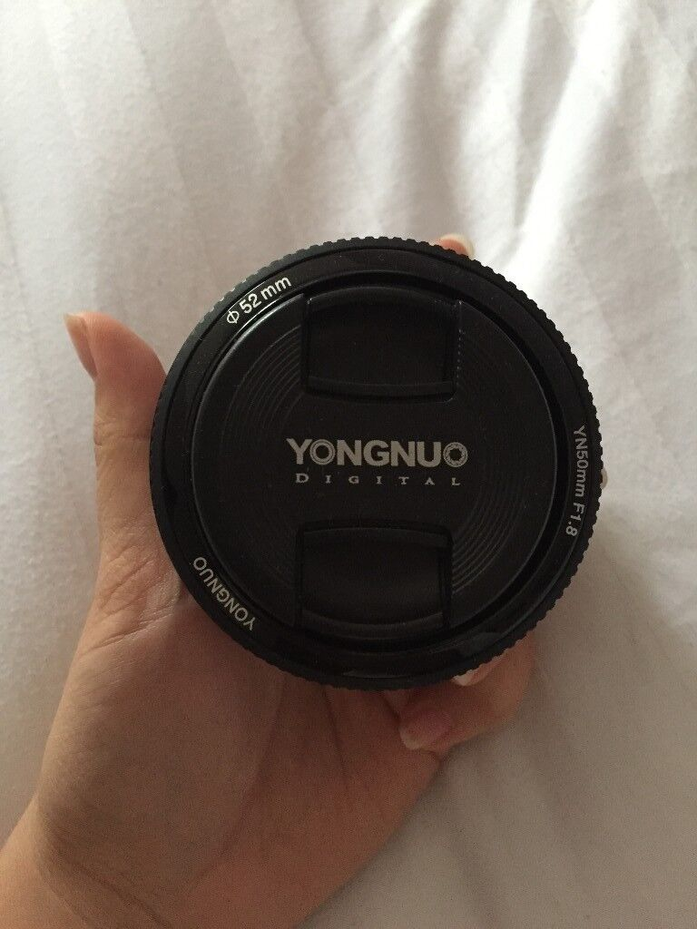 Yongnuo Yn 50mm F 18 Af Mf Large Aperture Auto Focus Lens For Canon Fix