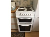 Belling free standing cooker - in excellent condition with electric hob