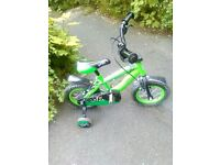 kids 2-3 years used bike. been in the shed. still very good