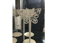 Wedding butterfly stands