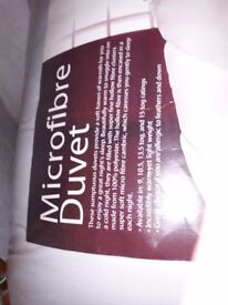 FOR SALE 15 TOG DOUBLE DUVET NEW, PICK UP DONCASTER AREA