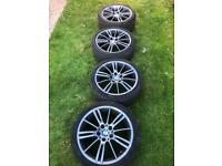 """BMW M Sport 18"""" Alloys and Tyres"""