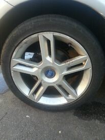 Fiat stilo alloy wheels