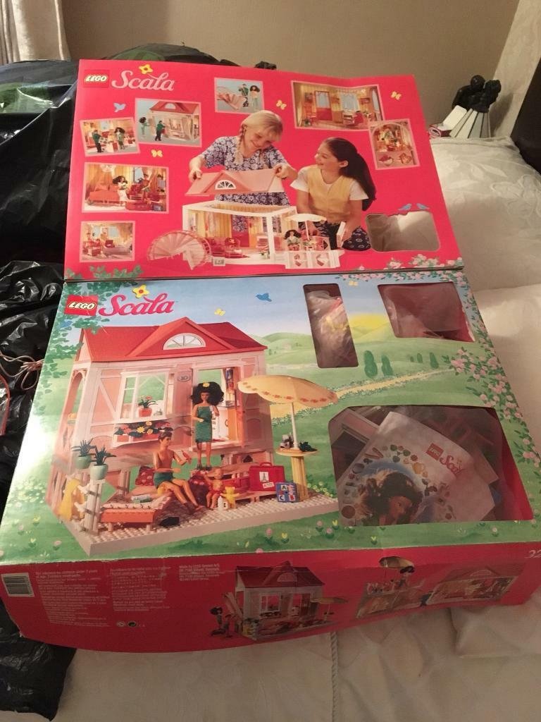 Vintage scala Lego dolls house