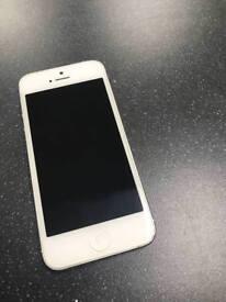 APPLE IPHONE 5 16GB Silver Factory unlocked