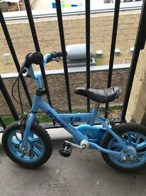 Blue little bicycle