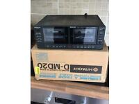VINTAGE HITACHI D-MD20 TWIN CASSETTE DECK BOXED, used for sale  Doncaster, South Yorkshire
