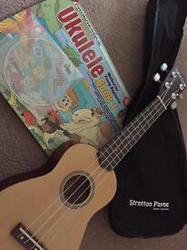 Ukulele... with bag and starter book/cd