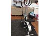 DTX cross trainer/bike