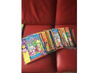 Full set Roald Dahl magazines /comics