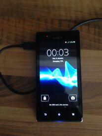 Sony Xperia j model