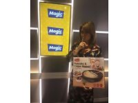 Magic Radio Breakfast Show: Chocolate Delight Workshop for 2 + Crepe Maker & Mother's Secret Recipe