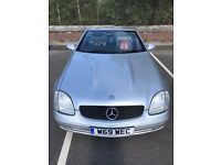 Mercedes slk 230 convertible for sale £2195 o.n.o