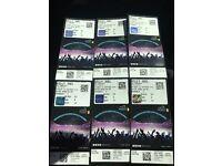 6x Billy Joel Tickets 10th Sept Wembley Stadium