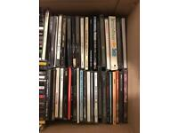 Approx. 100 CD's (albums/singles)