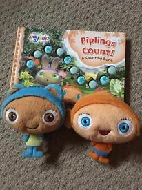 Waybuloo Book & soft toy set