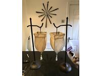 Pair of lamps excellent condition
