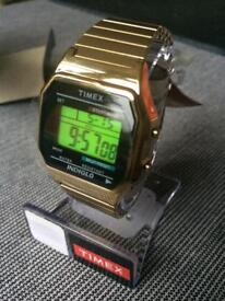 Timex 80 Gold Watch Boxed New