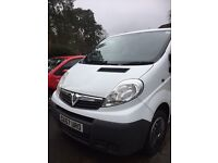 Vauxhall Vivaro 4dr 5 seats side/rear tinted windows, loads spent on it, great condition