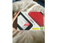 Nintendo 3ds xl red and black boxed