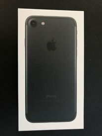 iPhone 7 - factory unlocked, mint condition with brand new and unused accessories.