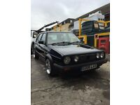 VW MK2 Golf Black