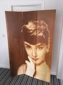 Audrey Hepburn Screen / Room Devider