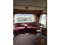 Two bedroom caravan to let beside the shore great for dog walking