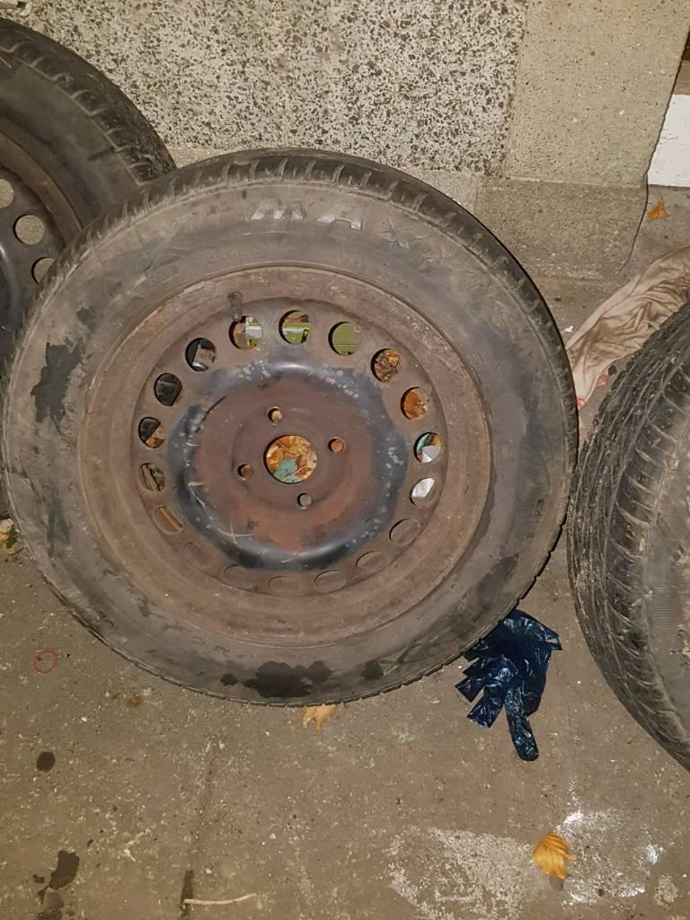 1856515 steel wheels 4x100