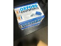 NEW IN BOX Oxford brute force Ground anchors for motorcycles or push bikes