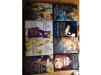 Collection of Philippa Gregory books.