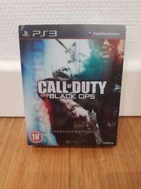 Call Of Duty Black Ops Hardened Edition Bonus Items (PS3)