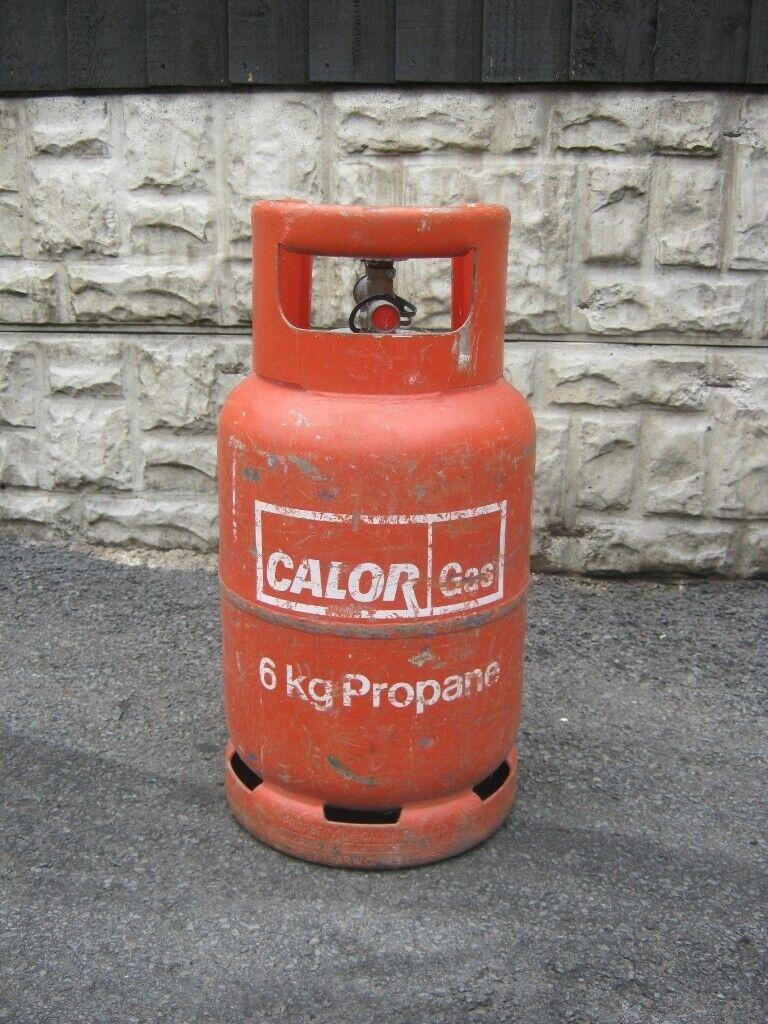 Full Calor Gas Propane Bottle 6kg | in Mansfield ...