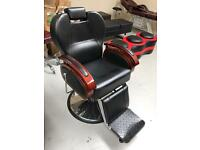 NEW HEAVY DUTY BLACK HADI® UK BARBER CHAIR ,CASH ON COLLECTION ONLY