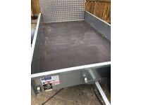 P8e IFor Williams trailer as new with ramp tailgate